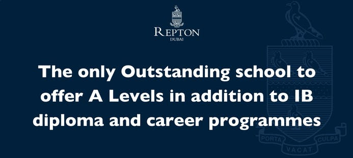Repton School Dubai diversifies its curriculum with A Levels offerings